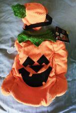 "BOOTIQUE Orange ""PUMPKIN PATCH PUP"" Costume  Puppy Dog medium NWT"
