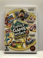 Family Game Night 4: The Game Show (Nintendo Wii) Complete w/ Manual - Tested