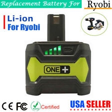 4.0Ah P104 Max Lithium Battery for Ryobi 18V Ryobi ONE+ P108 P102 P103 P105 P107