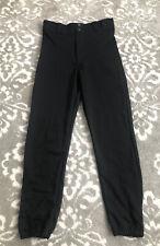 Rawlings Baseball Pants Size Adult Small Black