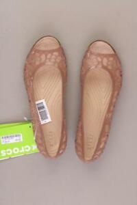 Crocs Sandalen Isabella Jelly Flat bronze für Damen Größe 38 neu mit Etikett