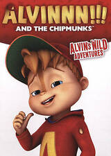 Alvinnn And the Chipmunks: Alvin's Wild Adventures (DVD, 2015)