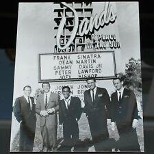 "Ocean's 11 RAT PACK 10"" x 8"" Photograph Sinatra, Martin, Davis JR, Lawford"