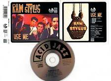 "RAW STYLUS ""Use Me"" (CD Maxi) 1993"