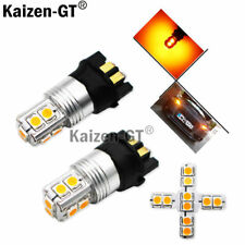Amber Error Free PWY24W LED Bulbs For Audi VW Front Turn Signal Lights, DRL Lamp