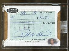 2016 Topps Dynasty 1/1 RALPH KINER Pittsburgh Pirates Auto Autograph Card  (SC2)