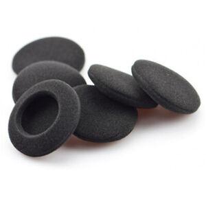 4 x Ersatz-Ohrpolster aus Schaumstoff für Kopfhörer 45mm 40mm 55mm 60mm 65mm