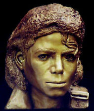 MICHAEL JACKSON bust made from life mask Sculpture POP