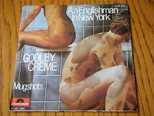 "GODLEY & CREME - AN ENGLISHMAN IN NEW YORK   7"" VINYL PS"