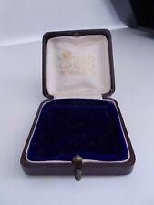 Antique  Leather Jewellery Display Box