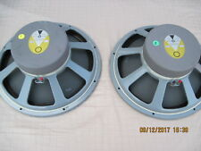 Pair of JBL LE15B WOOFERS  from JBL L-200 Speakers  Close Numbers