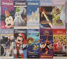 Disneyland & DCA 2005 - 2010 - 10 Different Guidemaps - Year Of A Million Dreams