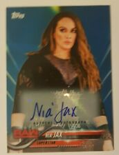 WWE Nia Jax - Topps 2018 Trading Card - Authentic Signed Card - *14/50*