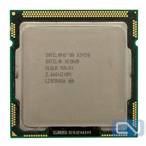 Intel Xeon X3450 2.66 GHz 8MB 4 Cores SLBLD LGA1156 B Grade CPU Processor
