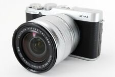 Fujifilm X-A1 16.3MP 16-50mm Lens Kit Silver [Exc++++] w/Box,8GB SD Card [618]