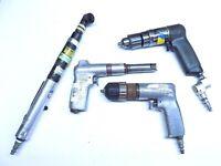 4 Pc Aircraft Air Tool Lot