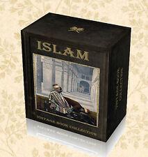 Life Teachings of Mohammed 185 Rare Books on DVD - Islam Koran Quran Religion E8