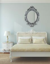 Silver Ornate Large Vintage luxury Mirror