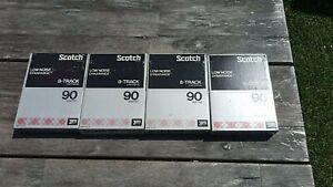 8 Track Tapes Blanks Scotch 90mins