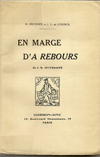 en marge d'A Rebours de J.-K. Huysmans, H. Brunner et J.L de Coninck