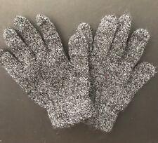 Kids Mittens Gloves Black Grey
