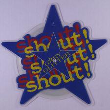 GARY GLITTER: Shout! Shout! Shout! 45 (UK, shaped pic disc) Rock & Pop