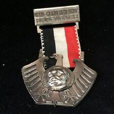 Paul Von Hindenburg Medal/Ribbon~Opus Wanderfreunde Rodenbach GERMANY VIntage