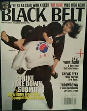 Black Belt Systema Knife Defenses Strike Take Down Aug/Sept 2014 FREE SHIPPING