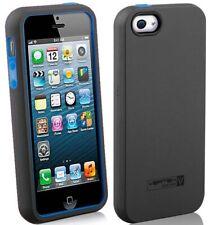 BLUE NAZTECH VERTEX SOFT SKIN HARD CASE SCREEN SAVER FOR iPHONE 5 5s SE (2016)