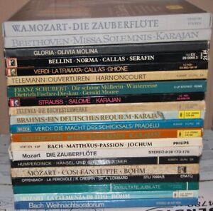 20 Box Große LP Vinyl Schallplatten KLASSIK SAMMLUNG - DDR ETERNA DGG EMI DECCA