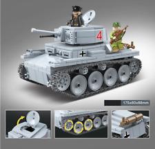 PDF instrucciones instruction MOC tanques ww2 III ejecución H de lego piedras