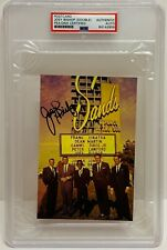 JOEY BISHOP Signed Autograph Slabbed PSA Rat Pack Frank Sinatra Las Vegas