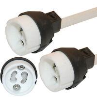 50 x GU10 Bulb Lamp Holder Connector Downlighter fitting --- UK NEW REGULATION