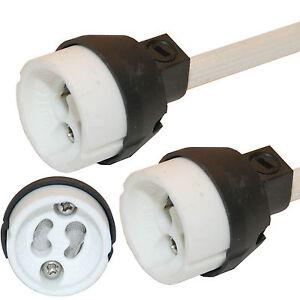 10 x GU10 Bulb Lamp Holder Connector Downlighter fitting -UK NEW REGULATION UK