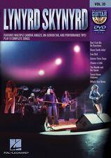 Lynyrd Skynyrd Guitar Play-Along DVD NEW 000321211