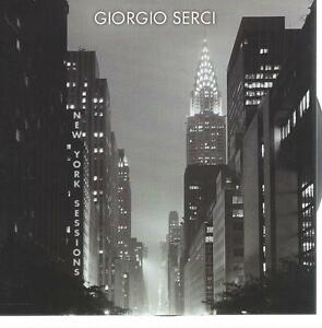 CD album GIORGIO SERCI - NEW YORK SESSIONS  - ACOUSTIC GUITAR -NEW AGE /