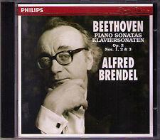 Alfred BRENDEL: BEETHOVEN Klaviersonaten Op.2 No.1 2 3 PH 1994 CD Piano Sonata