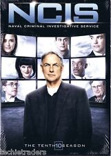 NCIS Complete Season 10 Ten Tenth   Factory Sealed    NIB    FREE SHIPPING