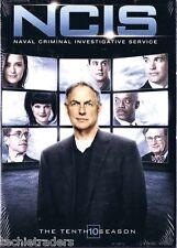NCIS Complete Season 10 Ten Tenth   Factory Sealed    NIB    FREE SHIPPING
