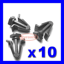 FRONT RADIATOR GRILLE CLIPS FOR NISSAN Xterra Sunny Pathfinder 200sx PLASTIC X10