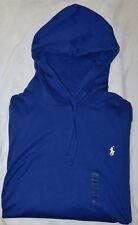 New Men's Polo Ralph Lauren LS Pullover Jersey Hoodie T-Shirt Size XXL 2XL