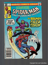 Spiderman and His Amazing Friends #1 Firestar Ice Man Green Goblin 1981