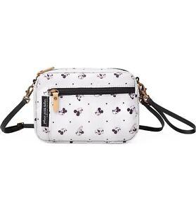Petuna Pickle Bottom & Disney Mickey Mouse Belt Fanny Pack Bag Beige SEALED
