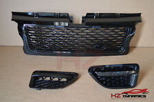 BLACK EDITION Autobiography Type Grill Vent FIT Range Rover Sport 2005 2009