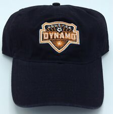 MLS Houston Dynamo Slouch Curved Brim Adjustable Fit Hat Cap NEW!