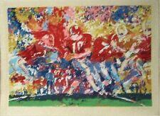 Leroy Neiman Original Silkscreen / Serigraph Alabama Handoff Artist Proof 1974