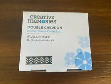 Creative Memories Double Chevron Border Maker Cartridge Punch Retired