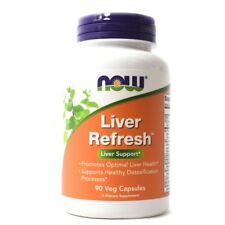 Now Foods Liver REFRESH, 90 caps Cleanse Detox DETOXIFIER & REGENERATOR