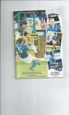 Chesterfield Home Teams C-E Division 3 Football Programmes