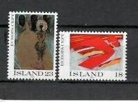S34053 Island Iceland MNH 1975 Europa Paintings 2v